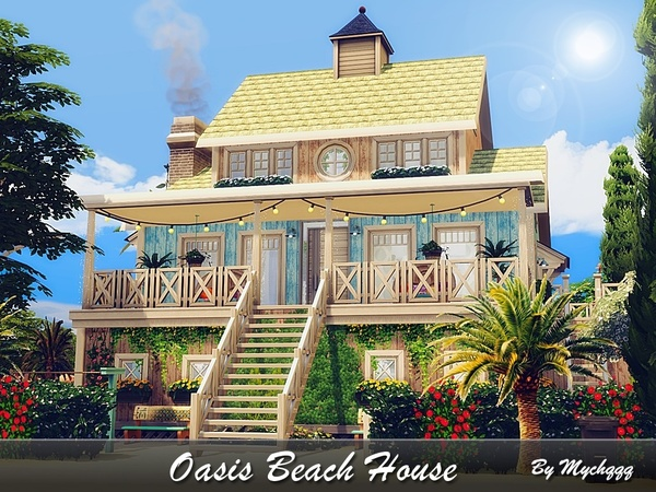 Oasis Beach House by MychQQQ
