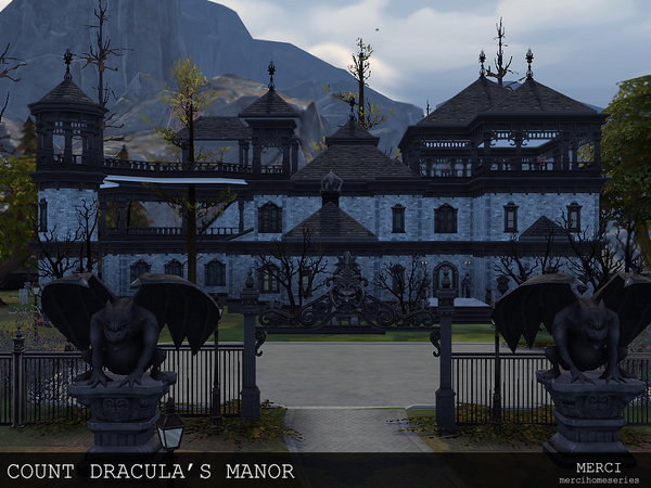 COUNT DRACULA'S MANOR by -Merci-