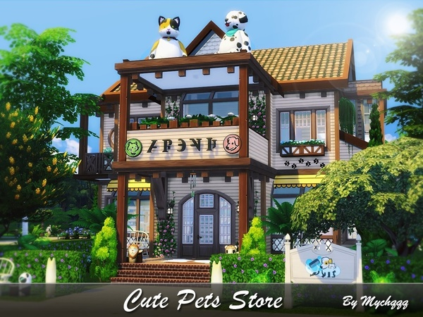 Cute Pets Store by MychQQQ