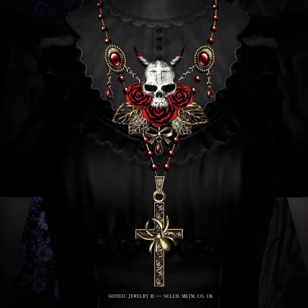 Necrosarium Gothic Jewelry II by S-Club
