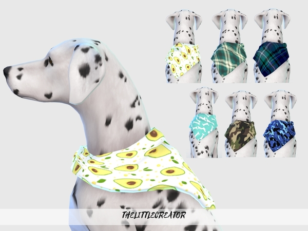 Large Dog Collars by TheLittleCreator