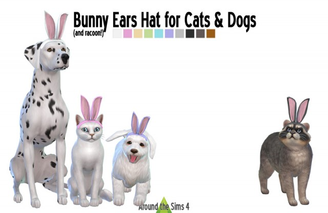 Bunny Ears hat for Pets (Cats & Dogs) by Sandy
