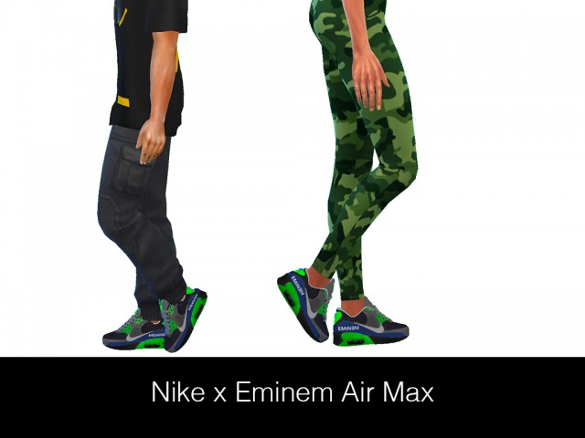 NIKE x EMINEM AIR MAX (Female & Male) by HypeSim