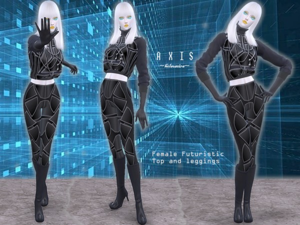 AXIS - Futuristic Set - Female by Helsoseira