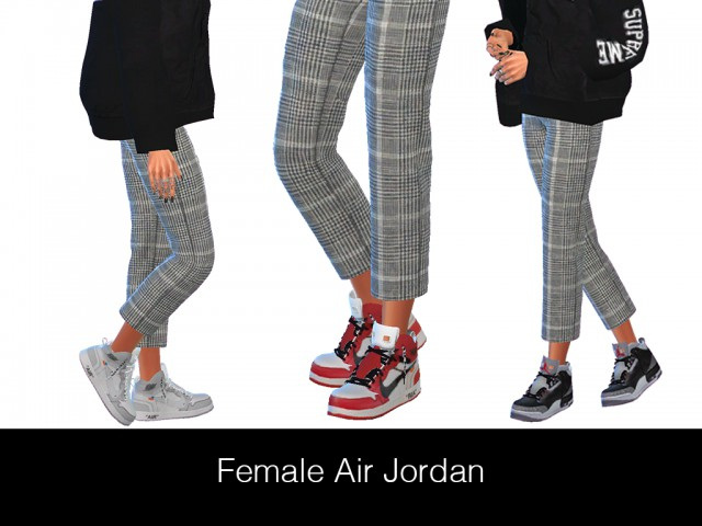 Female Jordan (3 Swatches) by HypeSim