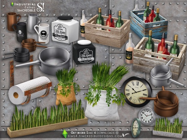 Industrial Kitchen extras by SIMcredible
