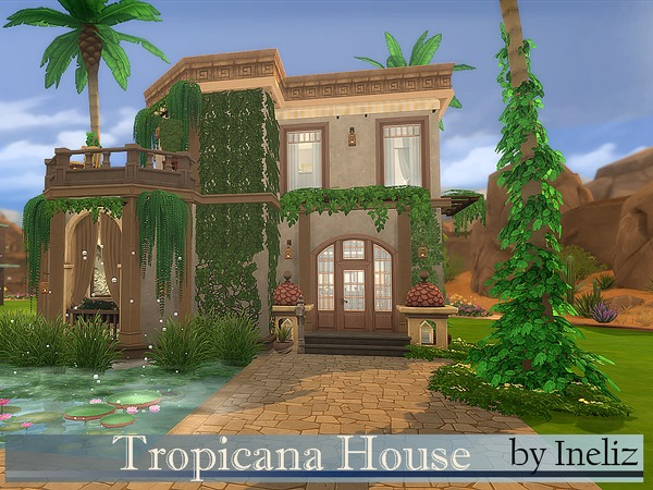 Tropicana House by Ineliz