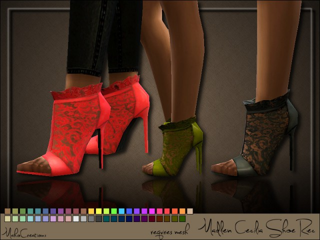 Madlen Cecilia Shoe Recolor by MahoCreations