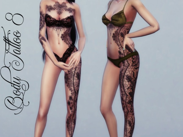 Body Tattoo 8 by Reevaly