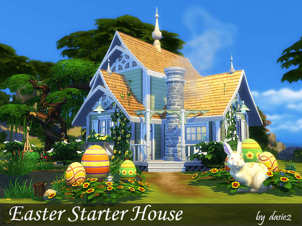 Easter Starter House by dasie2