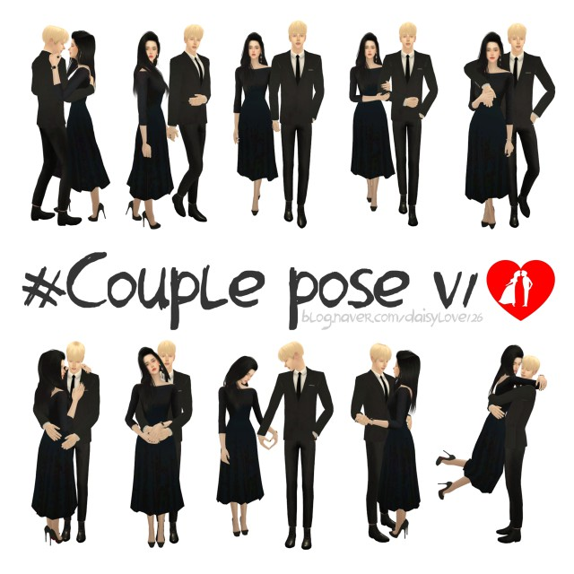 Couple pose v1 by daisylove126