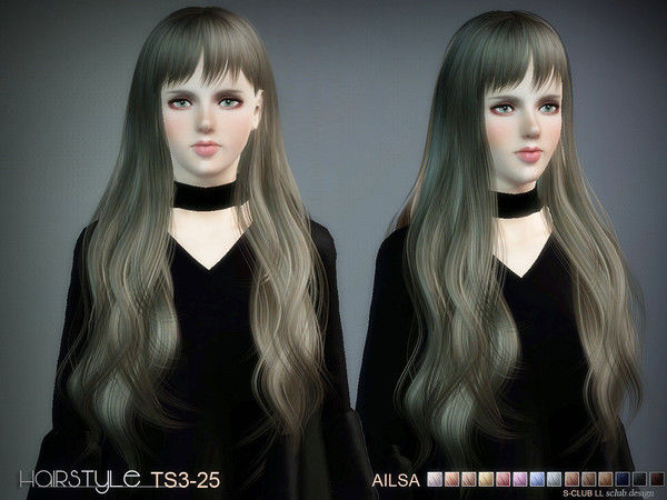 S-CLUB HAIR TS3--25