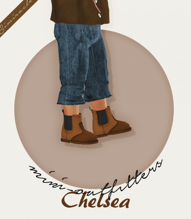 Chelsea Boots - Toddler Version - 3T4 by Simiracle