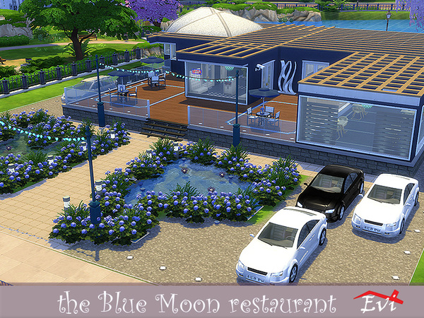 The Blue Moon restaurant by evi