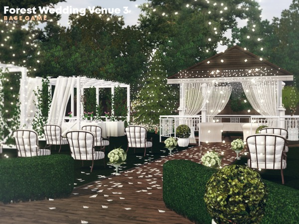 Forest Wedding Venue 3 by Pralinesims
