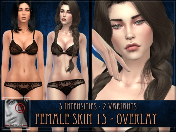 Female Skin 15 - Overlay by RemusSirion