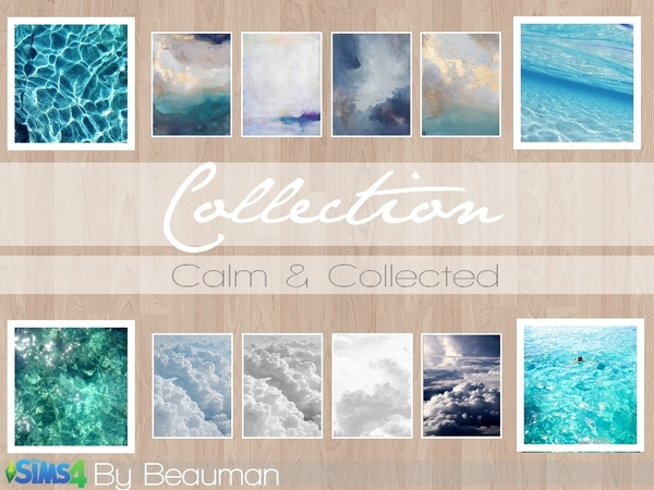 Calm & Collected Painting Collection by Beauman