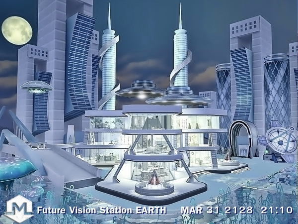 Future Vision Station EARTH by Moniamay72