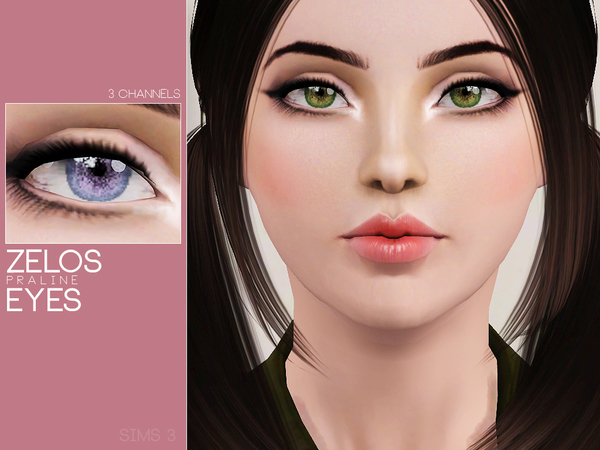 Zelos Eyes by Pralinesims