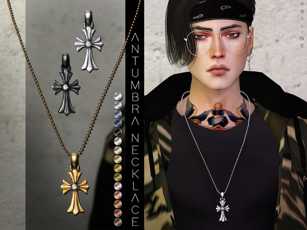 Antumbra Necklace by Pralinesims