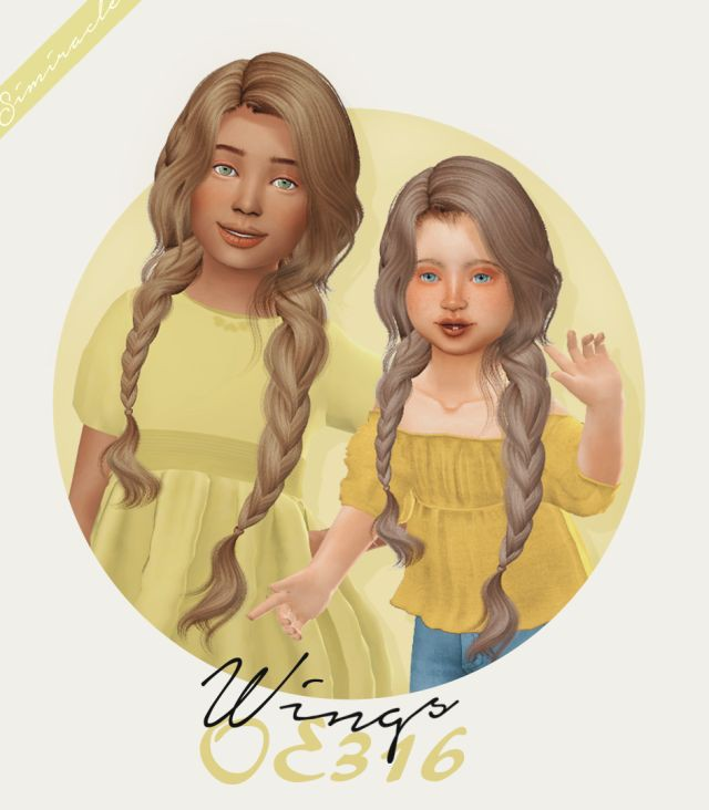 Wings OE316 - Kids & Toddlers by Simiracle