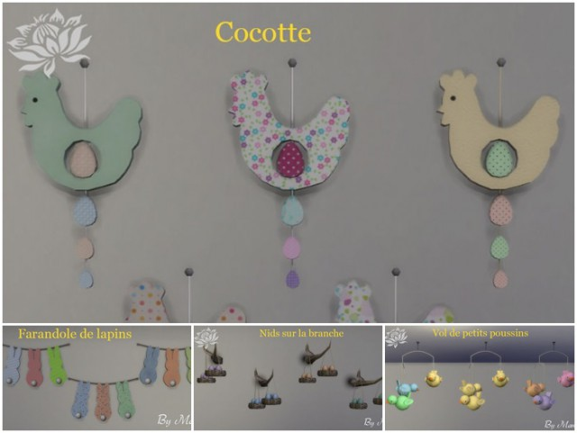 Easter deco set by Maman Gateau
