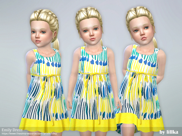 Toddler Emily Dress by lillka
