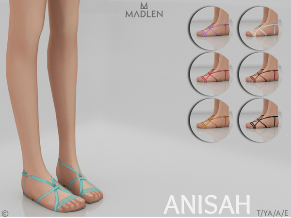 Madlen Anisah Shoes by MJ95