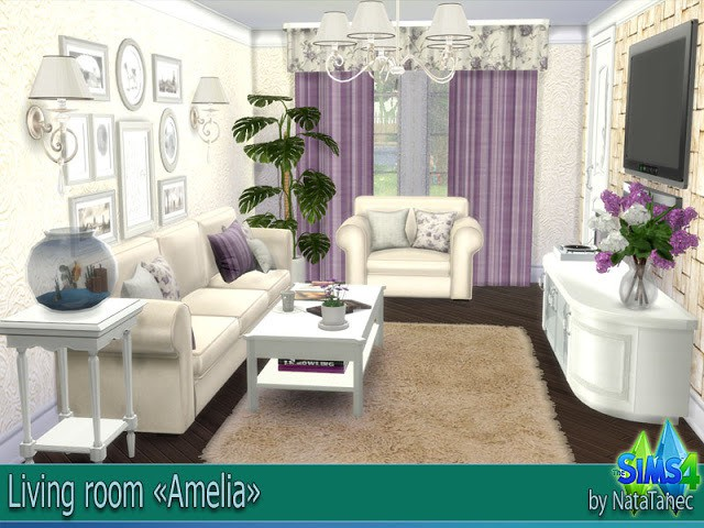 Living room Amelia by Natatanec