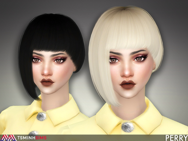 Perry ( Hair 58 ) by TsminhSims