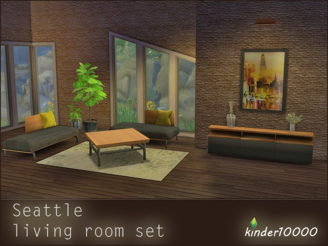 Seattle Living room set by kinder10000