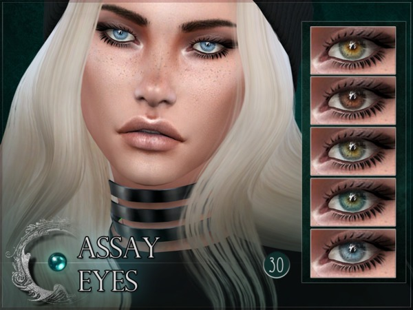 Assay Eyes by RemusSirion