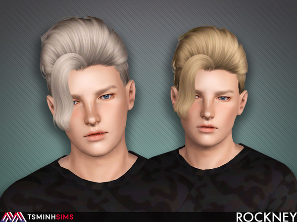 Rockney ( Hair 59 ) by TsminhSims
