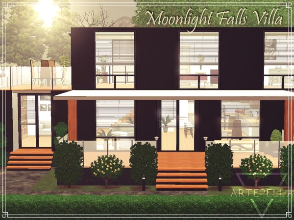Moonlight Falls Villa by artepella