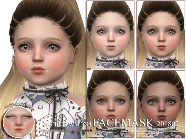S-Club WM ts4 Facemask 201802