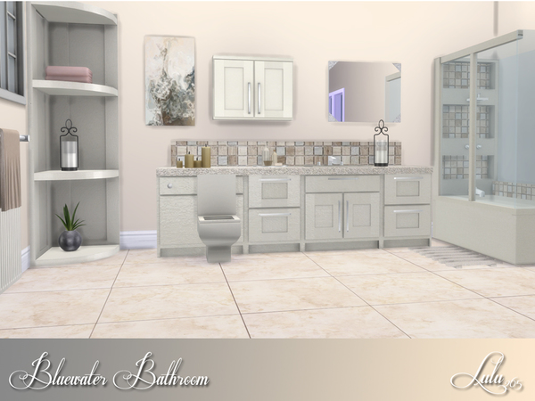 Bluewater Bathroom by Lulu265