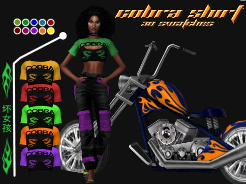 Cobra Set by Simstefani