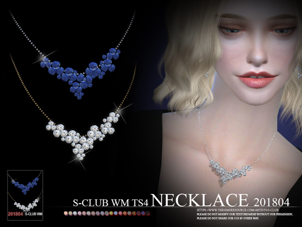 S-Club ts4 WM Necklace F 201804