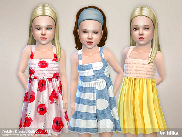 Toddler Dresses Collection P55 by lillka