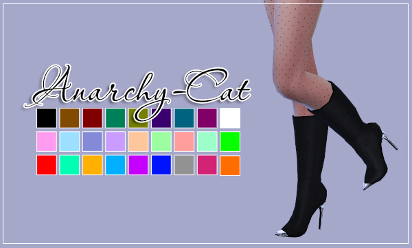 Madlen Anubis Boots by Anarchy-Cat