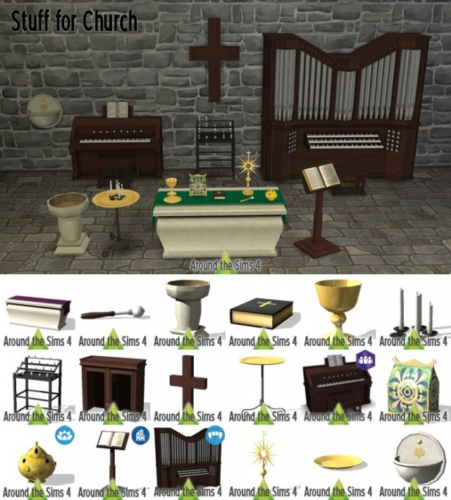 Stuff for Church by Sandy