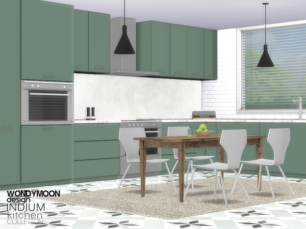 Indium Kitchen by wondymoon