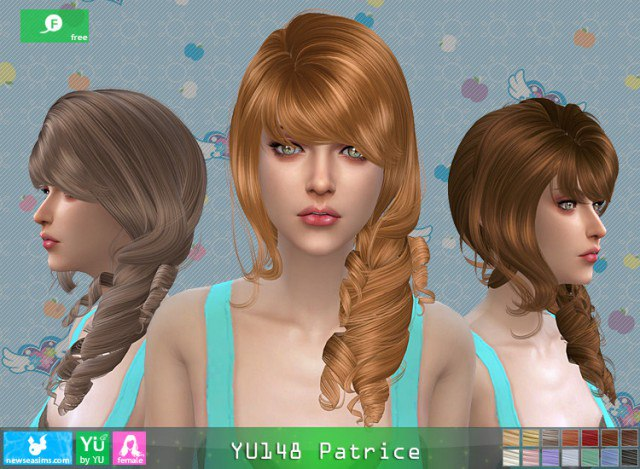 Hairstyle YU148 Patrice by Newsea