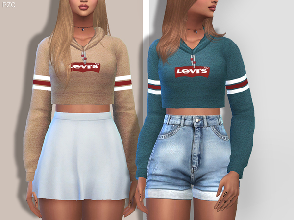 Levi's Sporty and Everyday Hoodie by Pinkzombiecupcakes