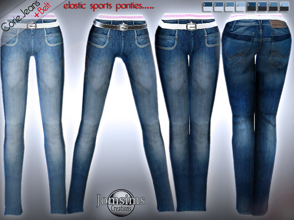 corie jeans by jomsims