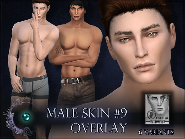 Male skin 9 - OVERLAY by RemusSirion