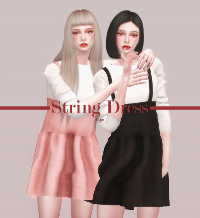 String Dress by DXY-ING