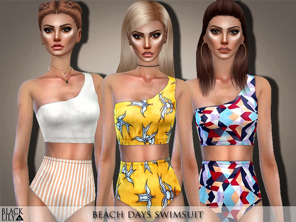 Beach Days Swimsuit by Black Lily
