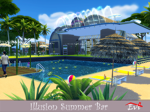 Illusion Summer Bar by evi