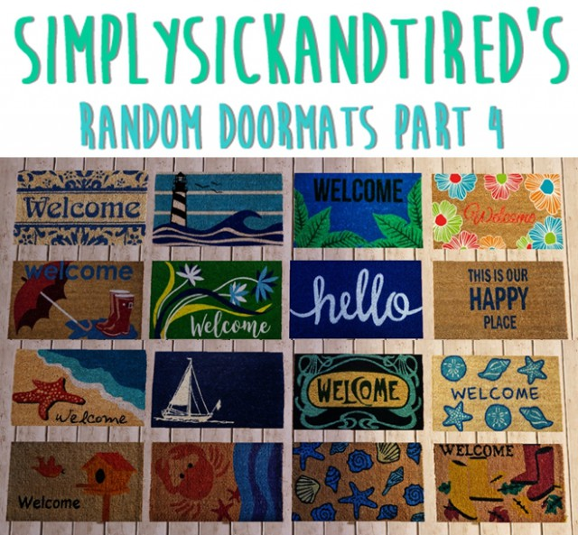 Random doormats 4 by simplysickandtired